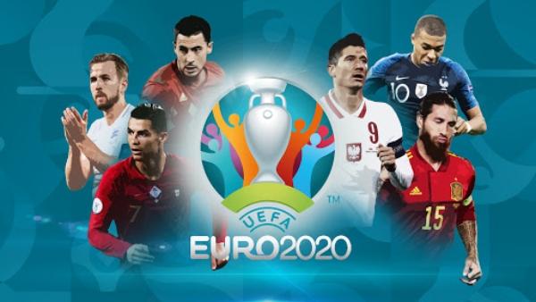 歐洲杯各國球隊力拼冠軍獎杯